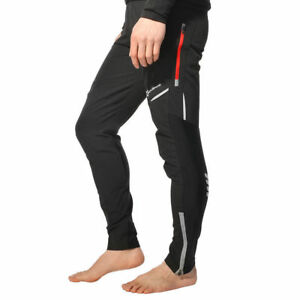 ROCKBROS-Cyclisme-Casual-Pantalon-noir-sport-randonnee-longue-Reflechissant-Pantalon