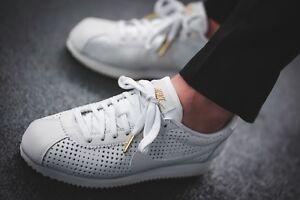 meet 0801a 55ae5 Details about Nike Cortez Classic SE Premium AA1436 100 Summit White Wmn Sz  8.5