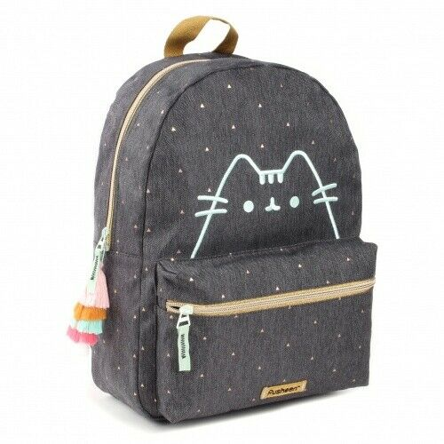 Pusheen Purrfect Denim Girls Womens Backpack New Collection