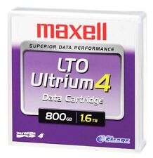 1 MAXELL LTO Ultrium 4 800GB 1.6TB Data Tape Storage Cartridge Neuve New Sealed