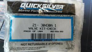 Quicksilver-Fuel-pump-kit-w-check-valves-for-Mercury-outboard-motors-21-30430A1
