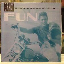 """NM 12""""~GRADY HARRELL~Fun~[Radio~Power Mix~Instrumental~Club Mix~Beats]~1989~"""