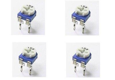 10pcs 10k ohm 10k R Trimpot Trimmer Pot Variable Resistor horizontal Type 103