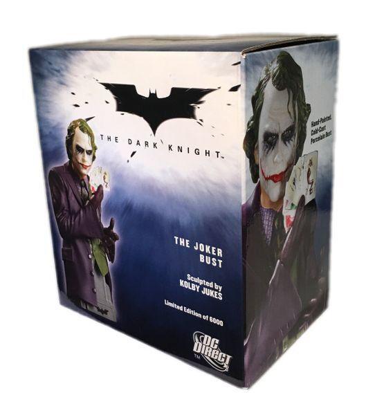 DC Comics Dark Knight The Joker Bust Bnib
