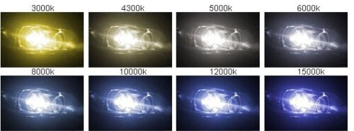 1 PAIR 12000k for Volkswagen D2S D2R HID Xenon Low Beam Replacement Light Bulbs
