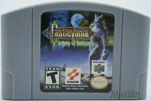 Castlevania Legacy of Darkness -   Nintendo - N64  - NTSC / USA