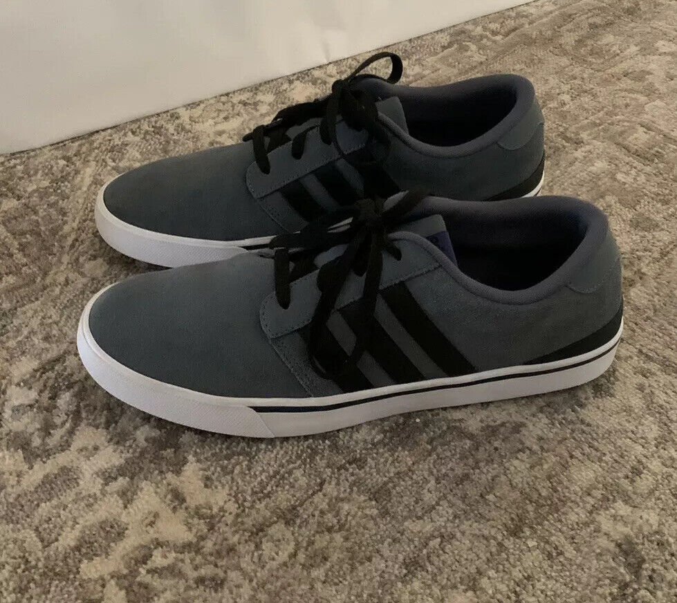 Adidas Neo Park ST Gray Suede Sneakers Shoes Mens Siz… - Gem