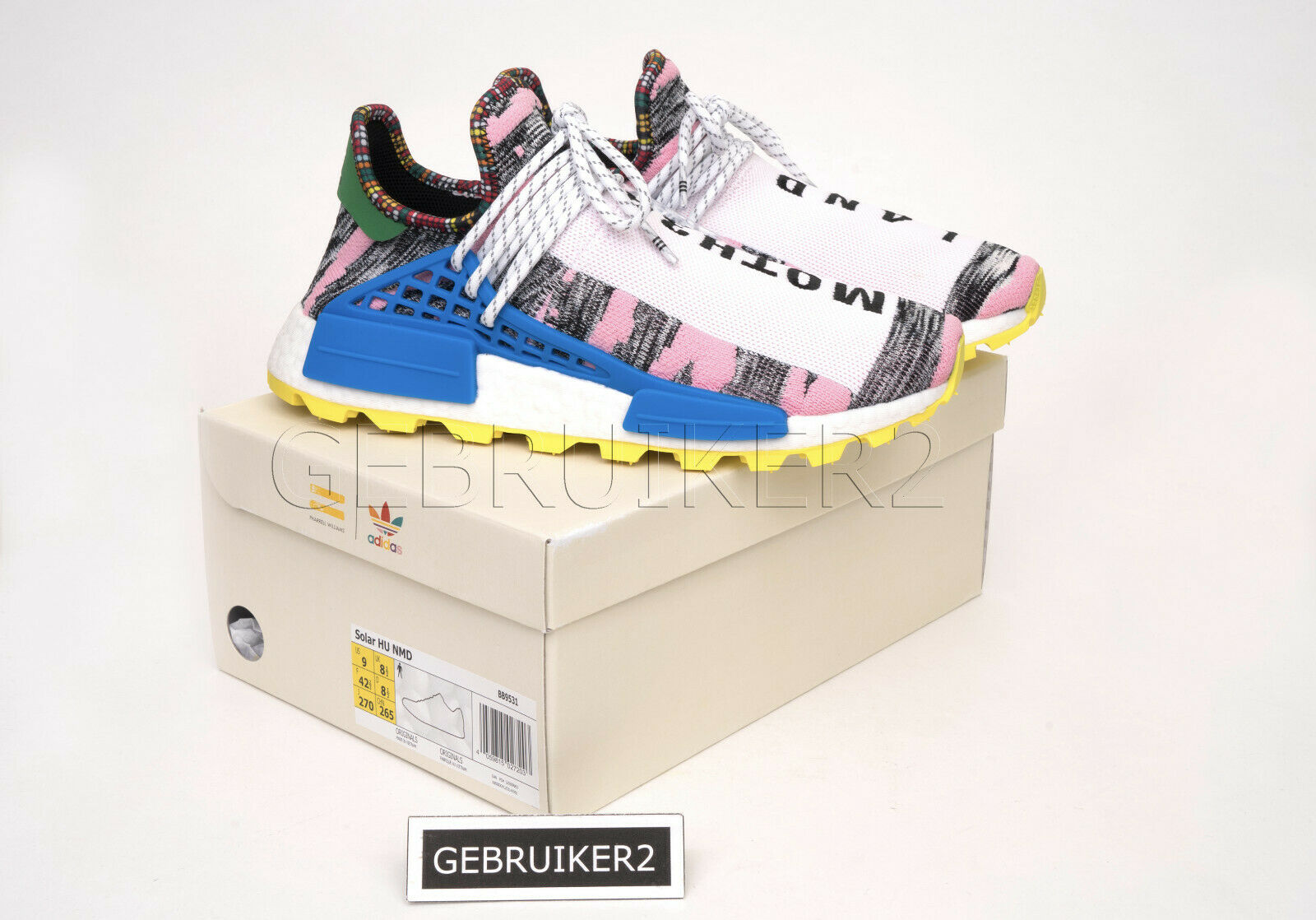 huge selection of dc61c 84519 Adidas Originals x Pharrell PW PW PW Afro Solar Pack Hu NMD ...