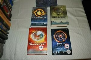 Divergent-series-set-by-Veronica-Roth-1st-Edition-Varied-Printings-hardcover