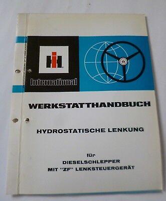 """IHC Hydrostatische Lenkung für Traktor 1055 mit """"ZF"""" Lenksteuergerät ."""
