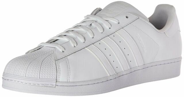 nowy koncept ekskluzywne buty oficjalny sklep adidas Superstar Foundation B27136 All White Mens US Size 10.5 UK 10