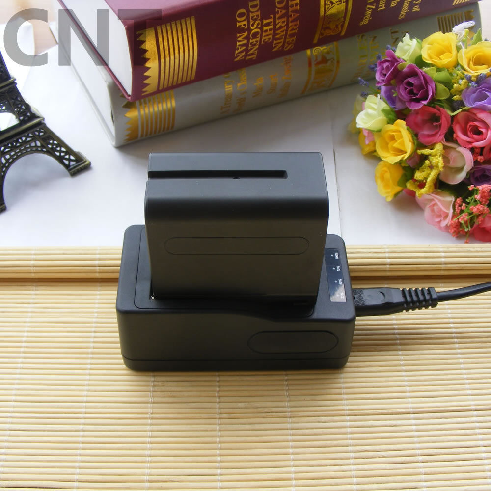 Quick rapid Charger For Sony NP-F770 NP-F750 NP-F530 NP-F730 NP-F970/960 Battery