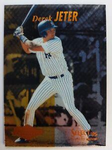 1995 95 Pinnacle Select Derek Jeter Rookie Card Rc Sp Foil 122