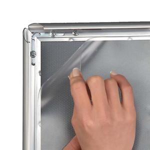 1 x DIN b2 film de rechange pour les clients butées pliante cadre