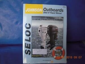230-1314 Service Manual Johnson Outboards All Engines 3.5-250 hp 2002-2007