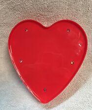 """Red Heart LED Light Sign for Home Decor Dorm Office Bedroom 6""""x6"""" Love"""