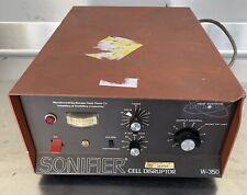 Branson Heat Systems Ultrasonic Sonifier Cell Disruptor Model W 350