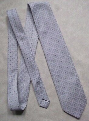 Creativo Vintage Tie Cravatta Da Uomo Retrò 1980s Scintillante Argento-mostra Il Titolo Originale Pulizia Della Cavità Orale.
