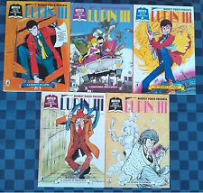 LUPIN III - 1 - 2 - 3 - 5 - 7 - Mitico Star Comics - MONKEY PUNCH