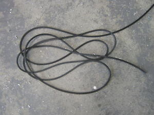 Details about 5mm Flyscreen Spline Flywire Rubber 10 Meter lenght