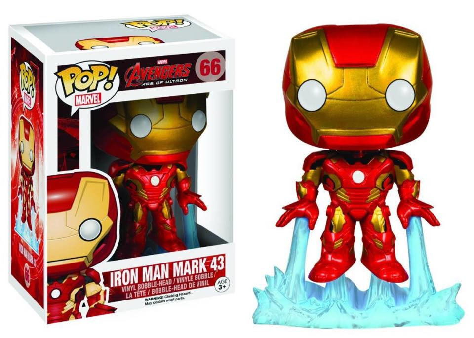 Figurine 66 Ironman Funko Marvel Pop Avengers Man Iron The Vinyl MzVUpS