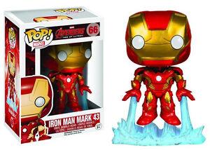 Funko Pop Iron Man 66 Ironman Marvel The Avengers Figurine en Vinyle Tony Stark # 2