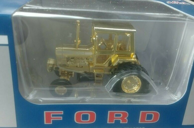 NEW  1 64 Ford 9600 tractor w  cab, High detail by Spec Cast, gold plated