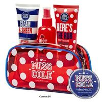 Miss Cole Take Me Away Bath & Body Gift Set With Makeup Cosmetic Bag