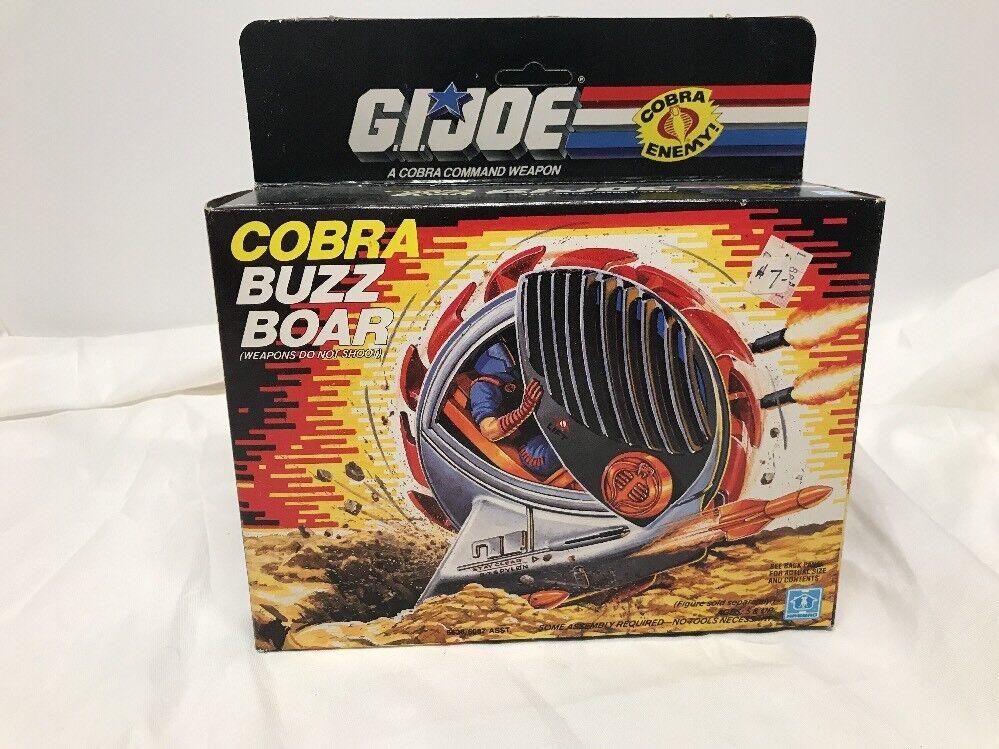 Vintage Hasbro 1987 G.I. Joe Cobra Buzz Boar - Unpunched - MOC