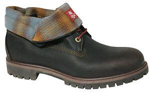 Top da D4 Timberland il pelle piega A11s5 Af marrone basso scarpe Roll tessuto verso uomo stivali YwarEaqx