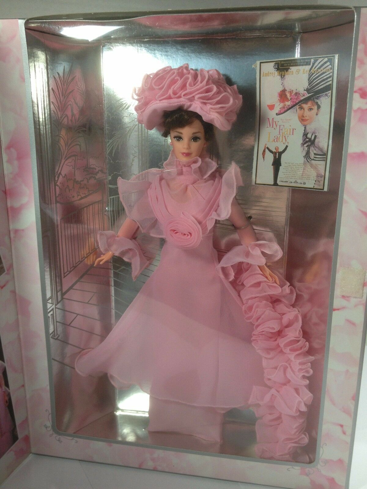 MY FAIR LADY ELIZA DOOLITTLE HOLLYWOOD BARBIE DOLL 1995 NIB NEVER DISPLAYED