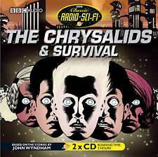 John Wyndham The Chrysalids & Survival 2 CD Audio Book BBC Radio Drama NEW