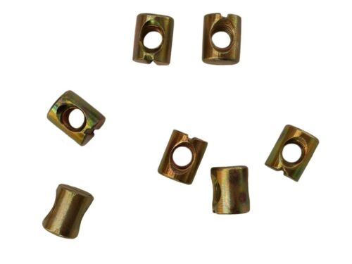 Beds Tables BRAND NEW REPLACEMENT Bed Bolt M6 Barrel Nuts for Furniture DIY