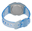 Casio-F-91WS-2DF-Blue-Resin-Transparent-Strap-Watch-for-Women thumbnail 4