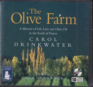 Carol-Drinkwater-Olive-Farm-10CD-Audio-Book-Unabridged-Memoir-Life-Love-France