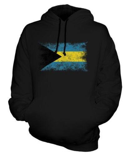 Bahamas Distressed Flagge Unisex Kapuzenpulli oben Football Trikot Geschenk