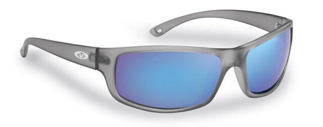 8964103cfe New Polarized Flying Fisherman Sunglasses Slack Tide Granite Blue Mirror  7756GSB