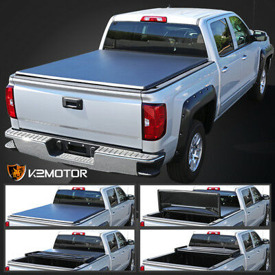 For 05 13 Nissan Frontier 2002 Navara D40 King Cab 6ft Tri Fold Tonneau Cover Telesto Gr