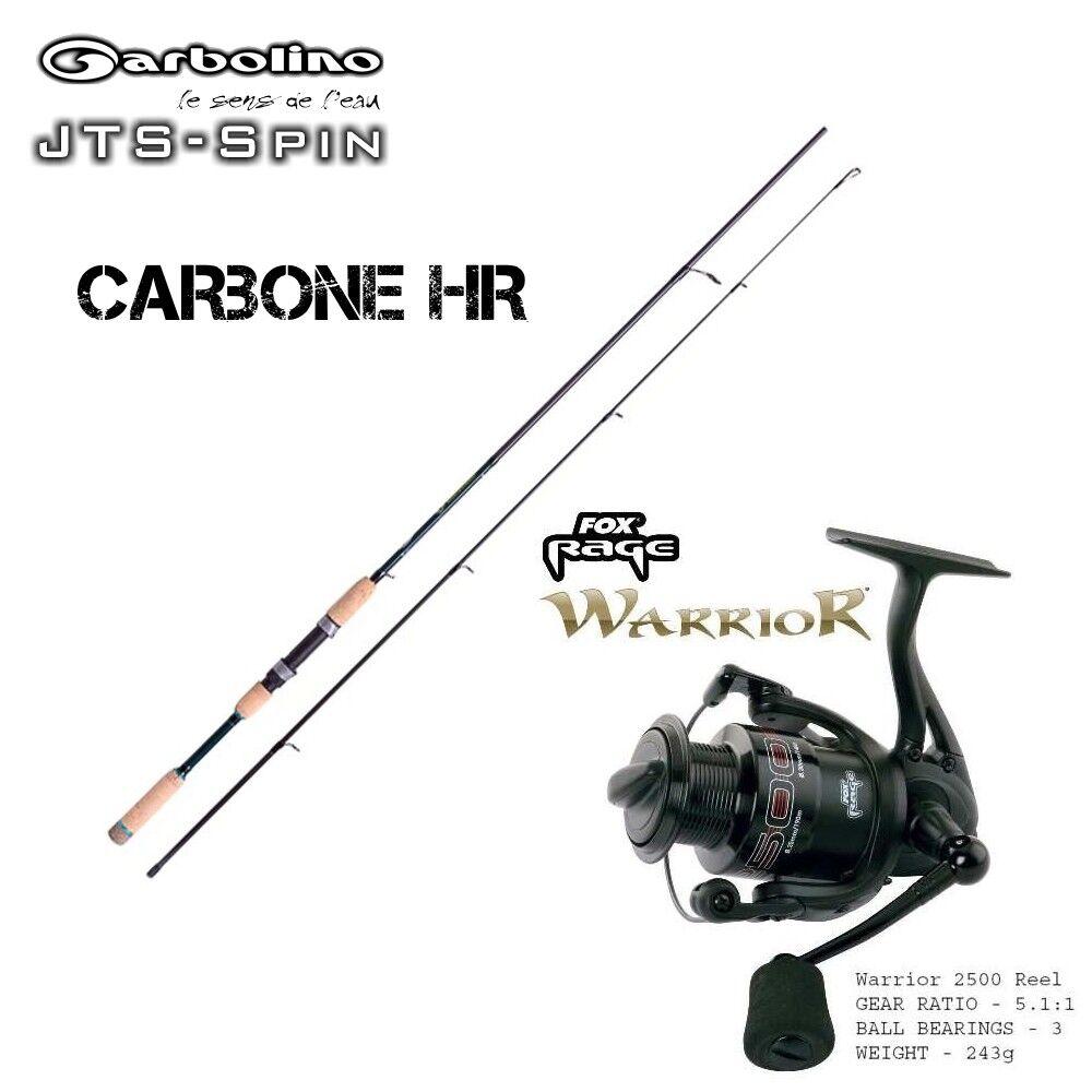 Garbolino JET SPIN 2,40m con sughero + Fox Rage Warrior 2500