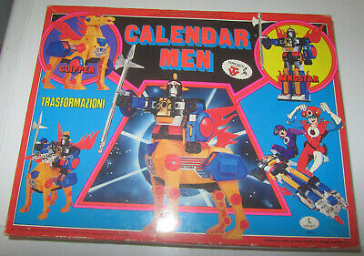 Onesto Calendar Men Ceppiratti Kingstar Clipper Calendarmen Man Time Bokan Robot Vintag