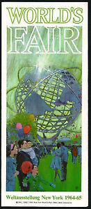 1964-New-York-World-039-s-Fair-German-Brochure