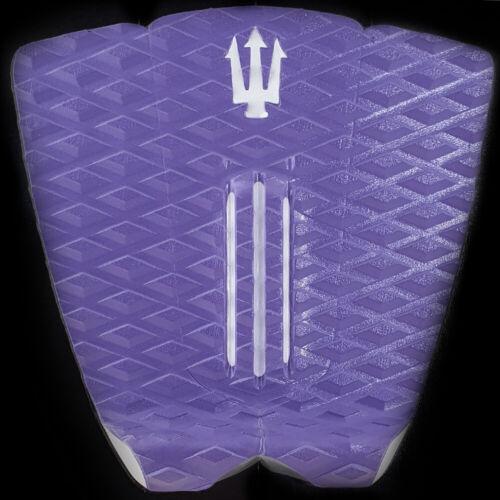 Far King Micro 3 Piece Dynamic Diamond Traction Surfboard Tail Pad Purple