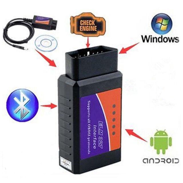 OBD2 OBDII ELM327 V2.1 USB Diagnostic Scanner PC Engine Scan Tool Code Reader NE