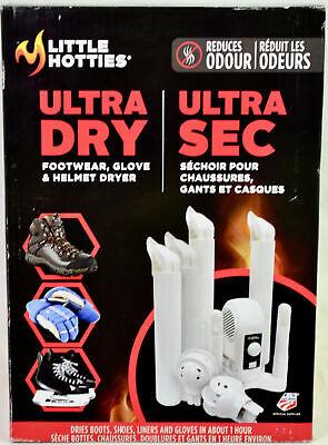 NEW Little Hotties Multi-Purpose Footwear Glove /& Helmet Dryer