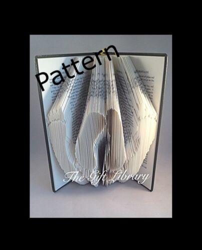 5patterns pour choisir de créer votre propre art Livre plié Livre motifs de pliage