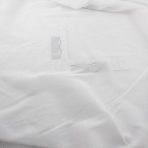 wei er netzstoff elastischer t ll super weiche raschelspitze mesh meterware ebay. Black Bedroom Furniture Sets. Home Design Ideas
