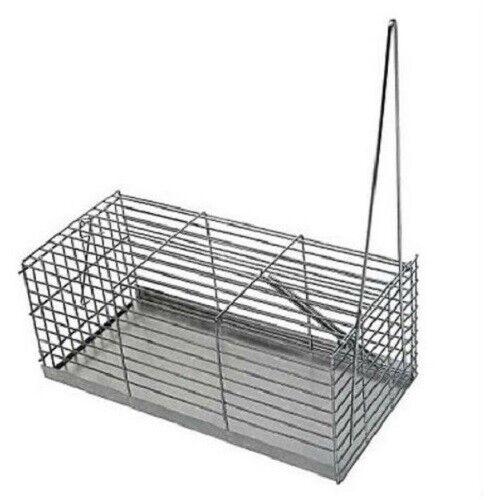 Jaula de Captura para Ratas y Ratones Sin Daños al Animal 30 cm