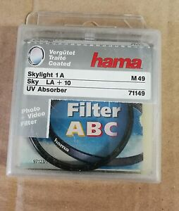 HAMA-M46-Filtre-Skylight-1A-MC-LA-10-49-mm-UV-Absorber