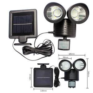 Lumiere-Exterieure-Detecteur-Mouvement-22-Led-Lampe-Eclairage-Solaire-Luminaire