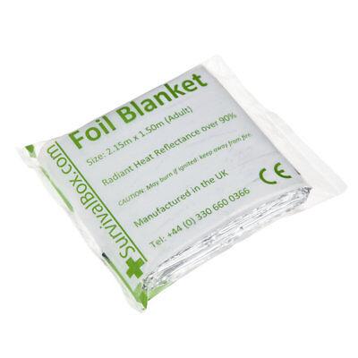 4 Silver Foil Blankets, Emergency Silver Blanket